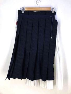 Sacai(サカイ)ドッキングアコーディオンプリーツスカートプリーツスカート