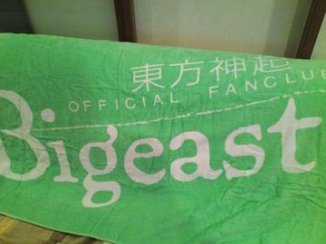 東方神起☆ビキスト☆タオル<緑>