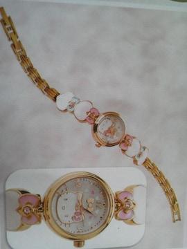 Hello Kitty ハローキティ モチーフベルトウォッチ(ブレスレットウォッチ・腕時計)