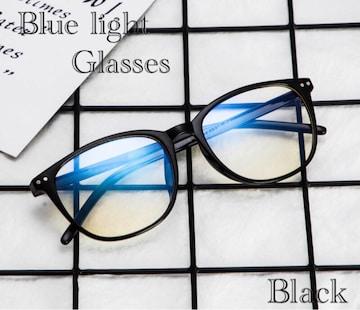 ウェリントン メガネ ブルーライトカット 伊達眼鏡 PC用メガネ