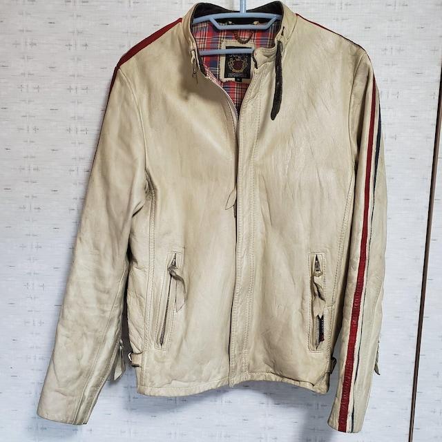 ショットライダースジャケット  < 男性ファッションの