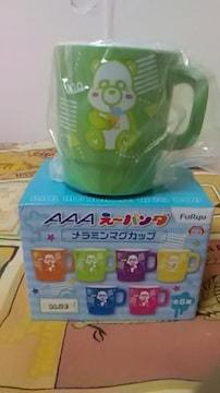 AAA・え〜パンダ・メラニン マグカップ・緑 浦田