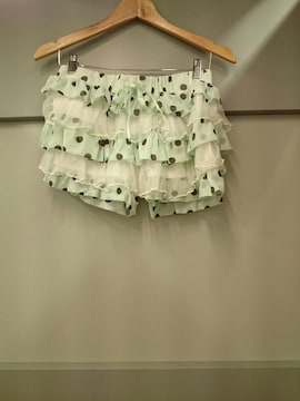 TRALALA☆ドット柄段々パンツ