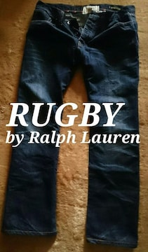 【RUGBY】ラルフローレン Vintage Washed リラックスフィットジーンズ 34/D.Wash