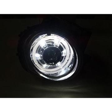 日産 ジューク JUKE LEDポジション&イカリング プロジェクターヘッドライト