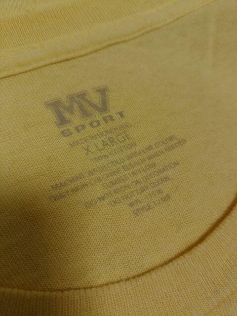 即決 送料込み MV SPORT エムブイ・スポーツ 半袖Tシャツ メンズ