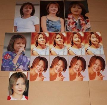 モーニング娘 中澤裕子 BIGブロマイド&写真 13枚セット