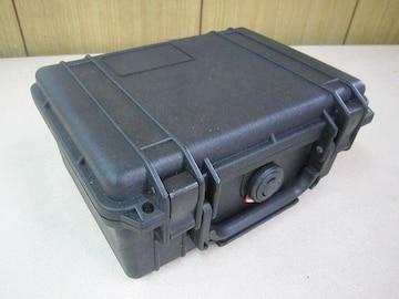 PELICANー防塵防水、ハードケース。