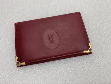 D518 Cartier カルティエ カードケース 定期入れ パスケース