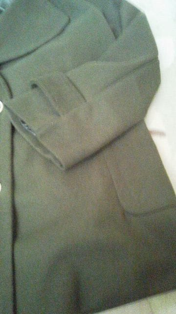 ViVi モスグリーン コート < 女性ファッションの
