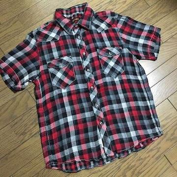 美品BEAMS チェックシャツ ビームス