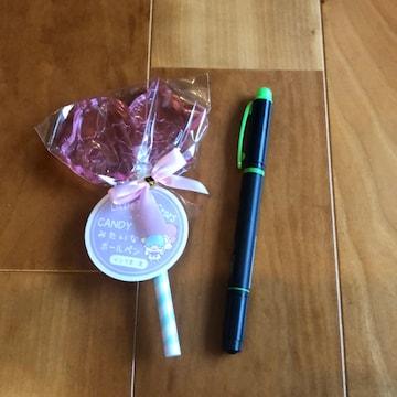 リトルツインスターズ キャンディみたいなボールペン