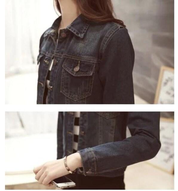 新品大きいサイズ5L19号デニムジャケットGジャン LT < 女性ファッションの