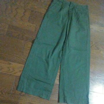 P.P.P. Sサイズ 綿100% グリーン