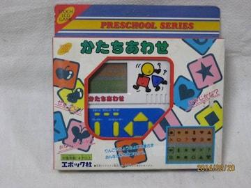 LCDゲーム かたちあわせ