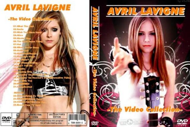 アヴリルラヴィーン ・プロモ PV集+Bonus! AVRIL LAVIGNE  < タレントグッズの