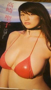 高崎聖子グラビア雑誌からの切り抜き