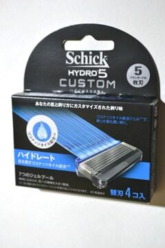 新品 シック ハイドロ5 カスタム 替刃 4コ入り 5枚刃 HYC5-4 HD