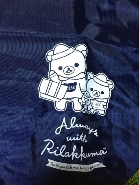 ☆非売品☆リラックマ☆エコバッグ&ふわふわポーチセット☆