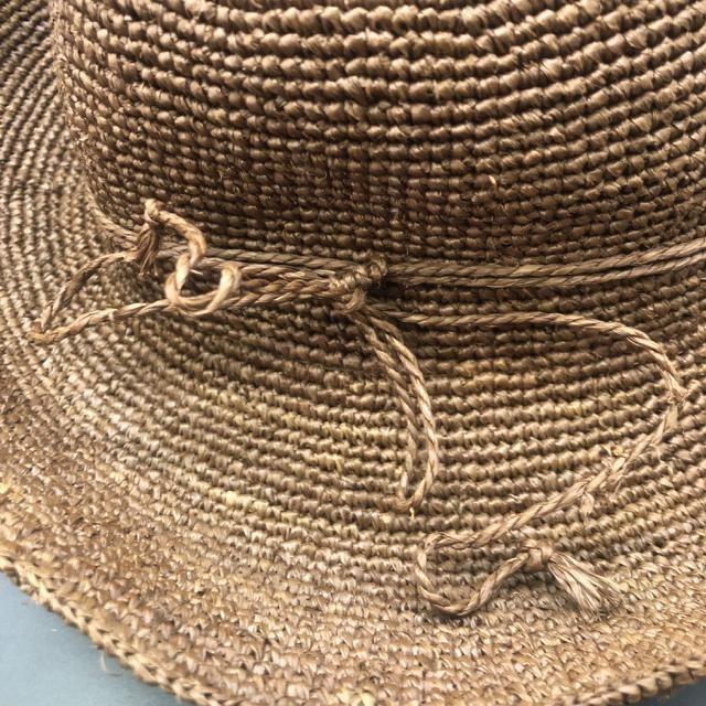 即決 無印 良品計画 天然草木 ラフィア 麦わら帽子 < ブランドの
