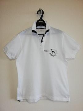 アダバット 半袖ポロシャツ ホワイト 美品