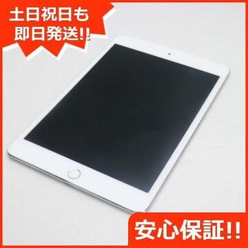 ●美品●au iPad mini 4 Cellular 64GB シルバー●