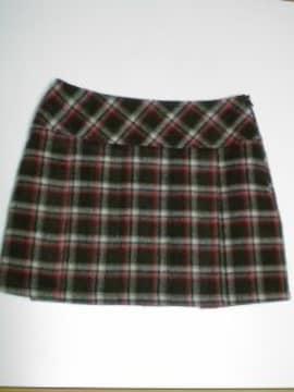 MISS&EWEチェック柄プリーツスカート