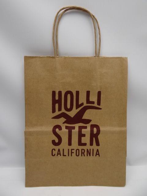 ホリスター ショップ袋 紙袋 A  < ブランドの