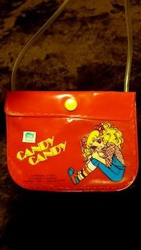キャンディキャンディ 当時物 レア ミニ ポシェット バッグ 鞄
