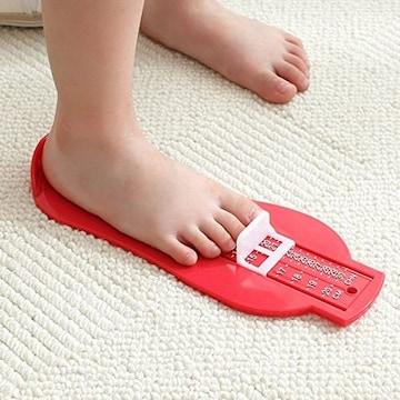 幼児 ベビー 足の測定器 【グリーン】