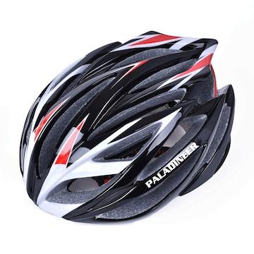 超軽量 サイクリングヘルメット レッド