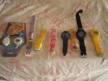 新品 腕時計 時計/大量まとめ売り デジタル 100個
