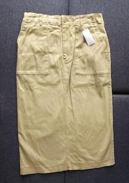LL★コットンベイカースカート★大きいサイズ