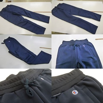 XL 紺)チャンピオン★ラップエアドライパンツ C3HS231 軽量パンツ 裾ゴム