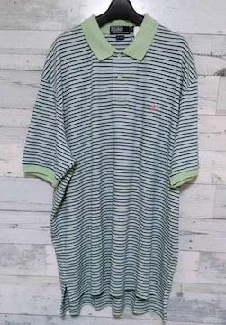 セールPoloRalphラルフローレンミントグリーンポロシャツ