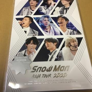 即決 Snow Man ASIA TOUR 2D.2D. 通常盤/初回仕様 Blu-ray 新品