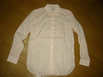 ワコマリアWACKO MARIAドレスシャツM薄手ストライプ美中古