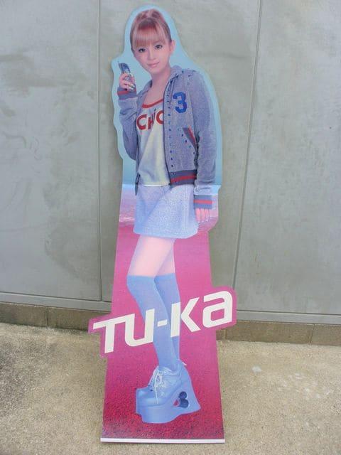 浜崎あゆみ 等身大パネル Tu−Ka   < タレントグッズの