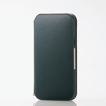 ■エレコム■iPhone 11 Pro■ソフトレザー■PM-A19BPLFY2GN■