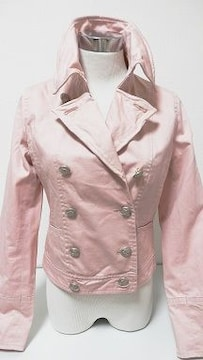ベビーピンクワイヤー襟自由自在ジャケットJKガーリー