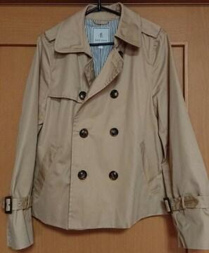 ROPE PICNIC☆新品同様☆ショートトレンチコート☆42