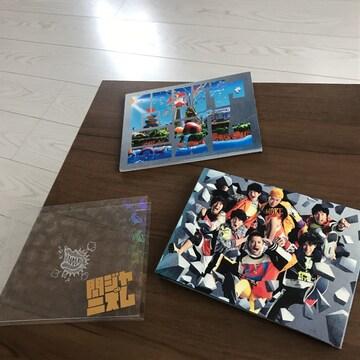 関ジャニ∞初回限定CD+DVD付きアルバム関ジャニズム日焼けあり