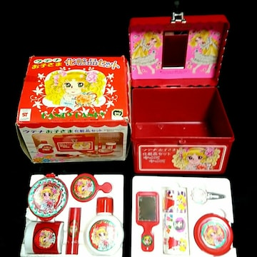 昭和レトロ 当時物キャンディキャンディ ウテナ 化粧品 セット