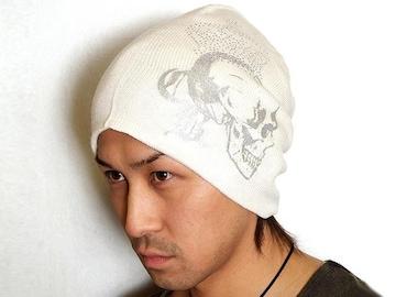 web掲載model★CHROME BODY♪スカルニット