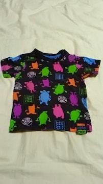 キッズ・PARTY PARTY /パーティーパーティーカラフルTシャツ90�p