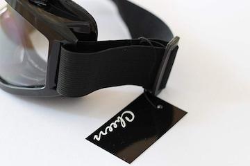 サバゲーゴーグル クリアーレンズ X3 ブラック