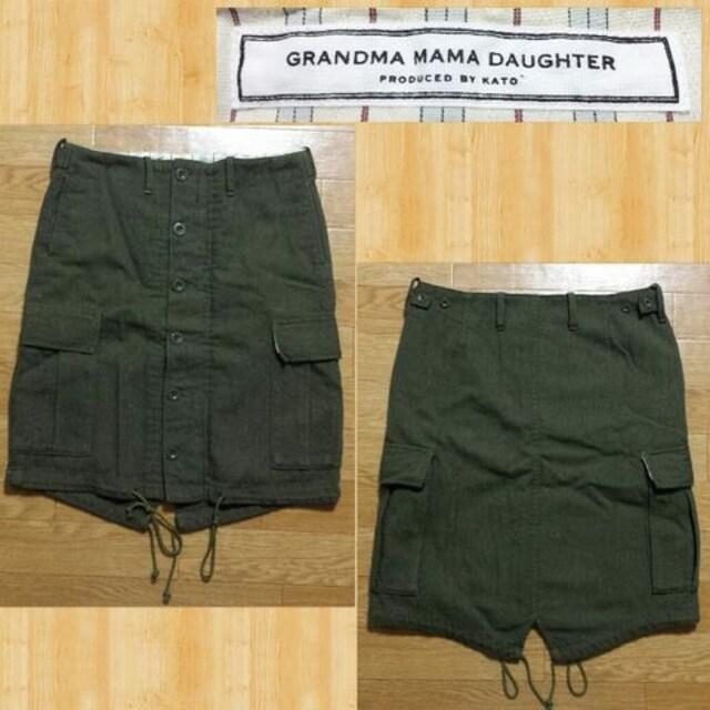 KATO GRANDMA MAMA DAUGHTER グランマ ママ ドーター スカート カトー 1 美品 < 女性ファッションの