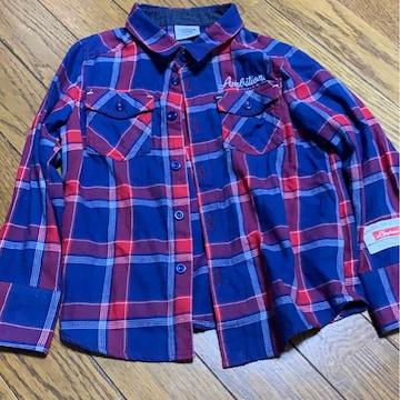 LAGKAW★赤チェックシャツ★アメカジ★サイズ110