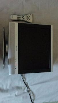 SHARPアナログ液晶テレビAQUOS LC-15S4 2004年製 +地デシチューナーセット
