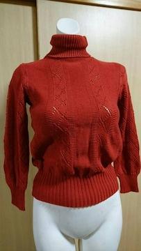 タートルネック セーター
